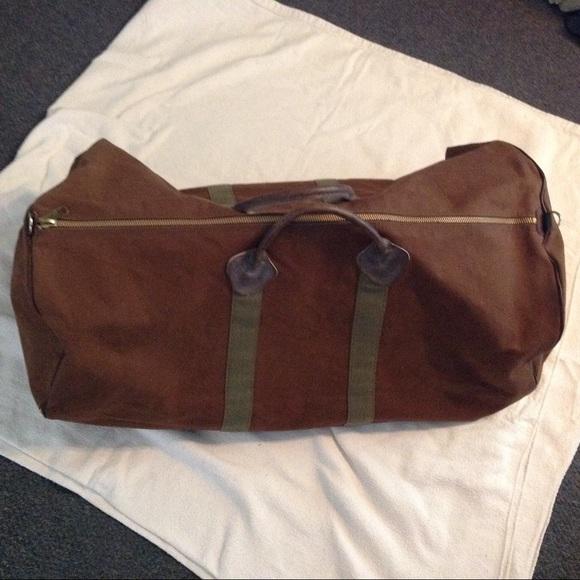 L.L. Bean Bags   Vintage Ll Bean Large Canvas Duffle Bag   Poshmark eb444ea919